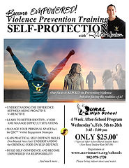 Norton Arts After school self-protection PEI