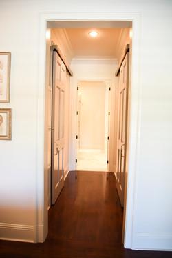 Master Closet Hallway