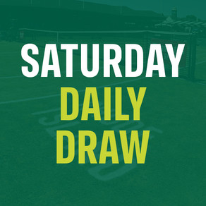 This is the Saturday Daily Draw