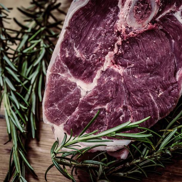 Steak und Rosmarin