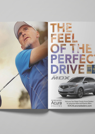 Acura MDX print ad