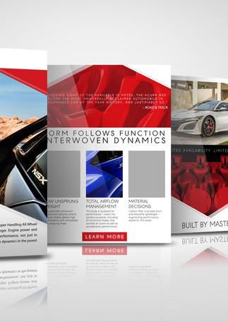 Acura NSX owner event landing page