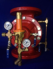 Dry System Deluge Valve with brass fittings