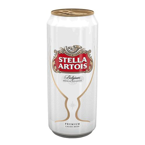 Stella Artois 6x4x500ml CAN