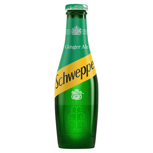 Schweppes Canada Dry Ginger Ale 24x200ml NRB