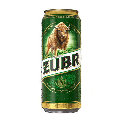 Zubr 6x4 500ml CAN