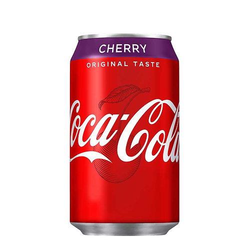 Coca Cola Cherry Can 24x330ml