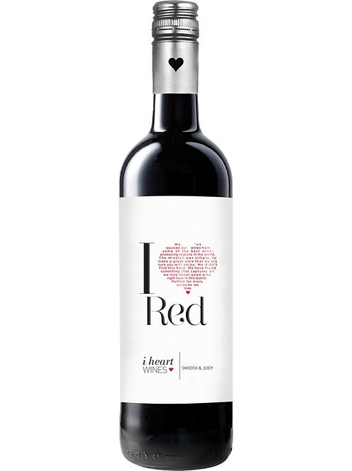 i heart Red 6 x 75cl