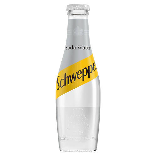 Schweppes Soda Water 24x200ml NRB