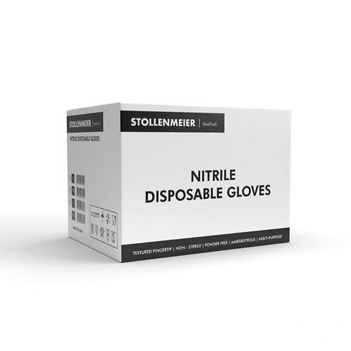 Stollenmeier Medtech Blue Nitrile Gloves (Box of 100)