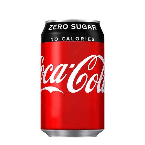 Coca Cola Zero Sugar Can 24x330ml