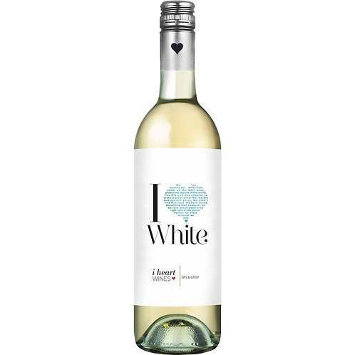 i heart White 6 x 75cl