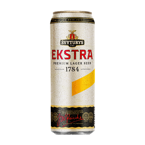 Svyturys Ekstra CAN 25x568ml