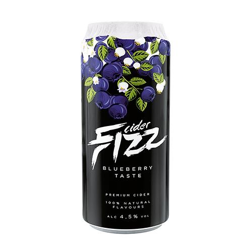 Fizz Blueberry Cider CAN 24x500ml