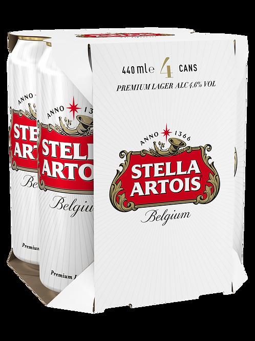 Stella Artois CAN 4x440ml