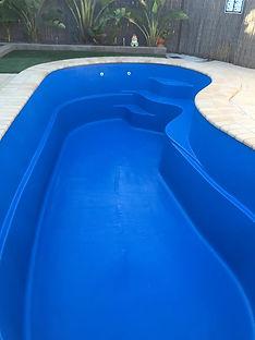 Nite Blue Fibreglass Pools