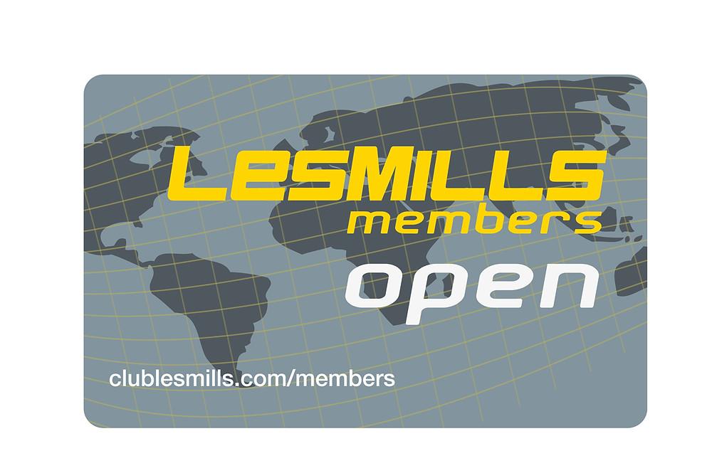 Forfait LesMills open