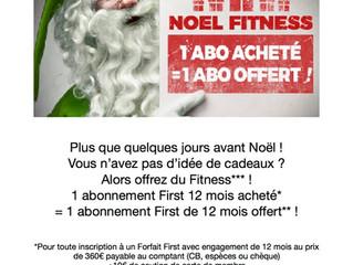 Offrez du Fitness pour Noël