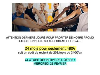 Promo Forfait First 24 mois