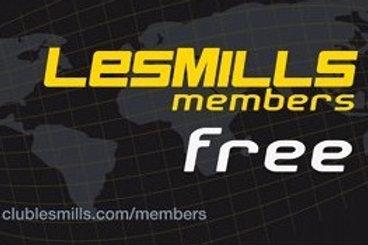 Forfait LesMills Free avec engagement sur 12 mois