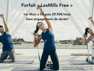 Forfait LesMills Free sans engagement