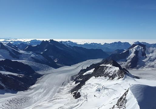 스위스 빙하 10% 감소