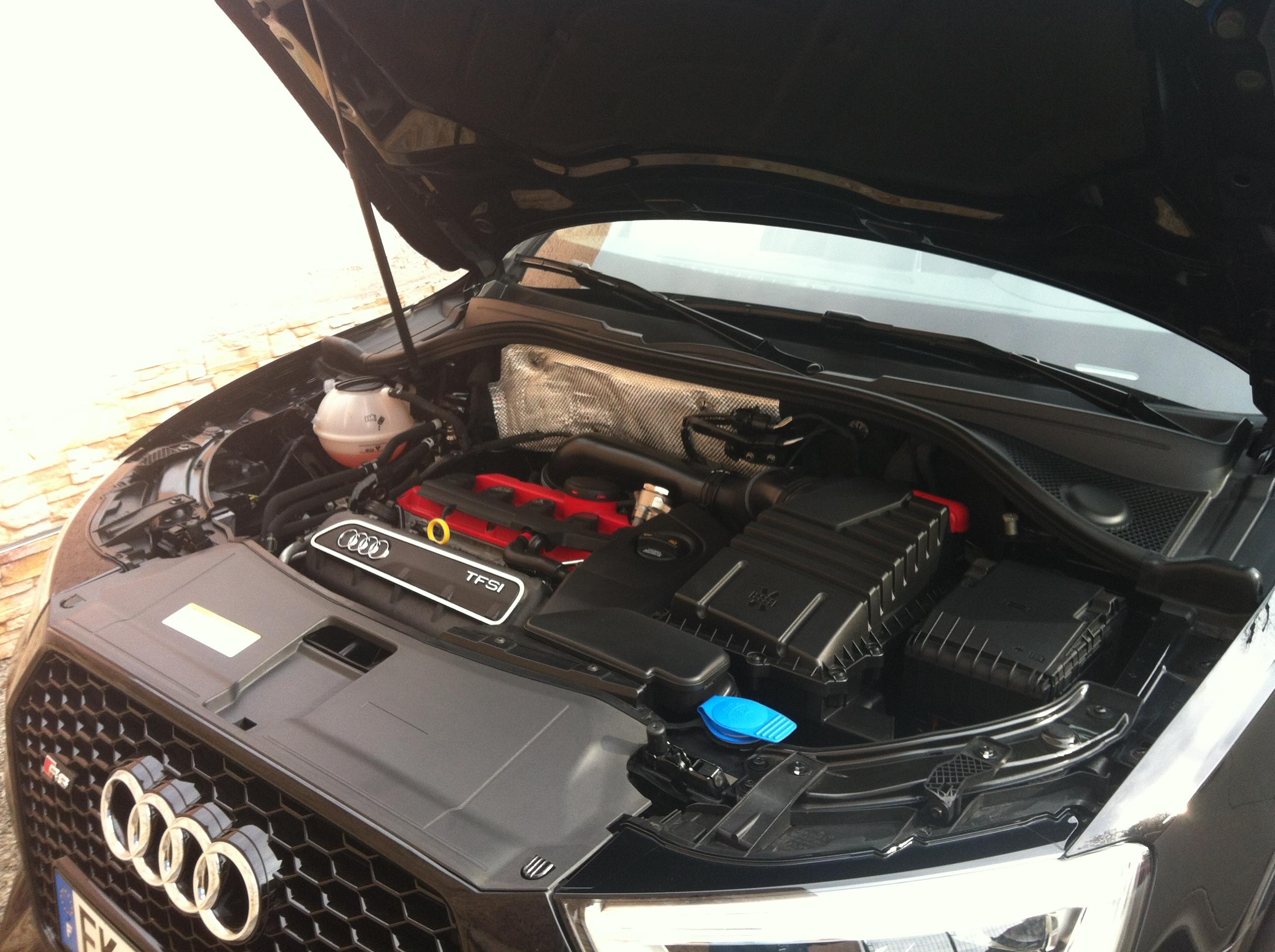 Lavage compartiment moteur
