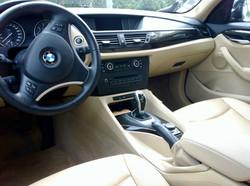 nettoyage intérieur BMW