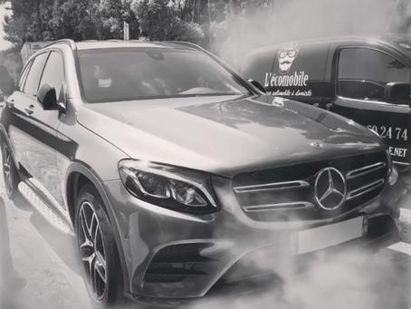 Le nettoyage de votre voiture à la vapeur...