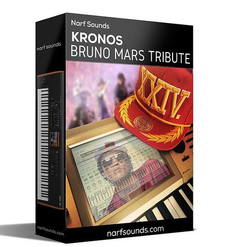 Bruno Mars Tribute Set for Kronos