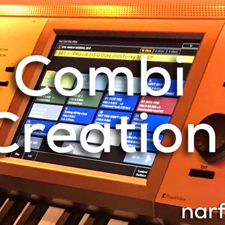 Korg Kronos Tutorial: Combi Creation, Layers Splits