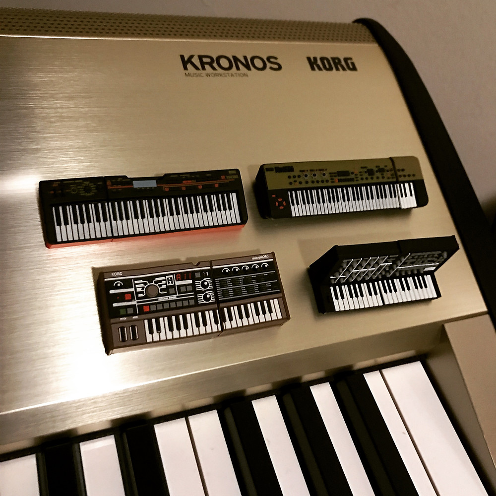Microkorg, MS20, Kross and KingKorg USB Drives