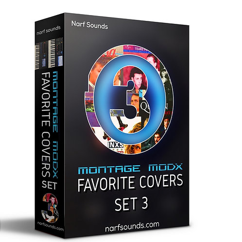 Montage MODX Favorite Covers Set 3