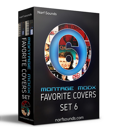 Narf's Montage MODX Favorite Covers Set 6