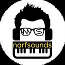 New Narfsounds Logo 4k White Circle.png