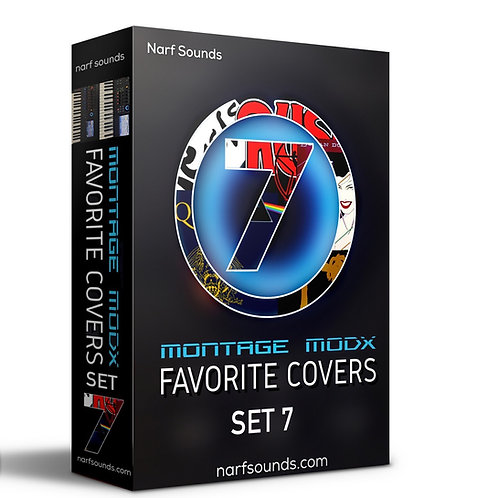 Montage MODX Favorite Covers Set 7