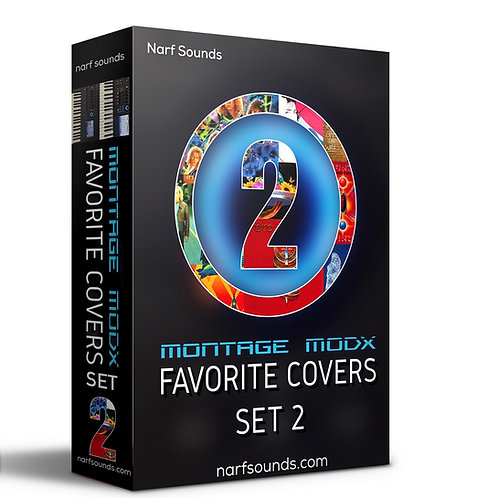 Narf's Montage MODX Favorite Covers Set 2