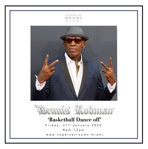 Dennis Rodman 'Basketball Dance off'