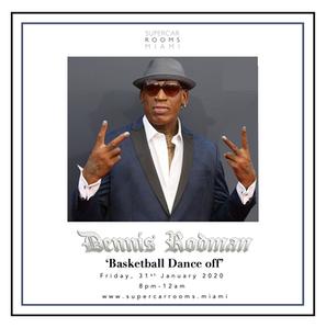 Dennis Rodman 'Basketball Dance off'