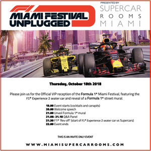 F1 Miami Festival Unplugged