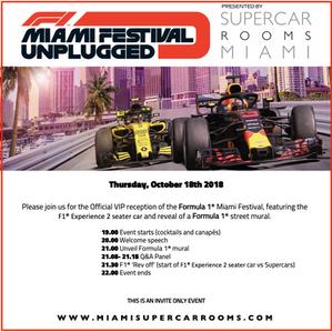 F1 Miami Festival Unplugged