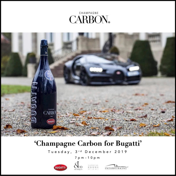 Carbon Champagne x Bugatti x Jacob & Co.