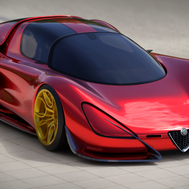 Alfa Romeo Stradale 33 Homage