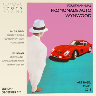 Promenade Auto Wynwood 2018 with Guests: Cleo Shelby