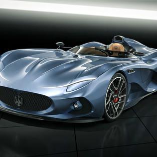 Maserati Millemiglia Concept 2020