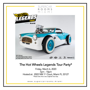 Hot Wheels Legends Tour VIP Party