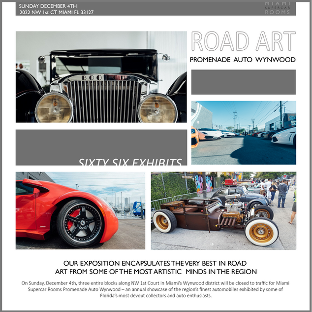 Promenade Auto Wynwood 2016 with Guests: Les Durnham