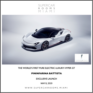 Pininfarina 'Battisa' Supercar Miami Launch
