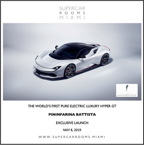 Pininfarina 'Battisa' Supercar Miami Launch