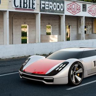 Porsche 904 E Concept